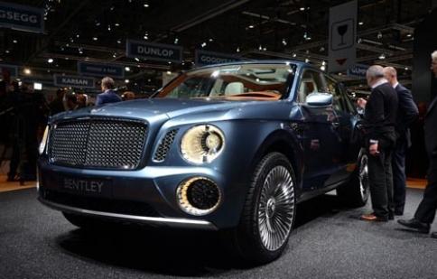 Bentley mang EXP 9 F ra mắt công chúng Châu Á