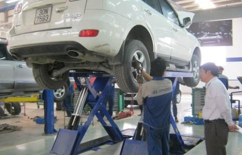 Hyundai Thành Công khuyến mãi dịch vụ hè 2012