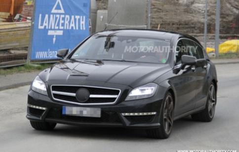 Mercedes CLS Shooting Brake lộ thêm ảnh nóng