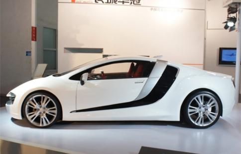 Ôtô Trung Quốc nhái Audi R8