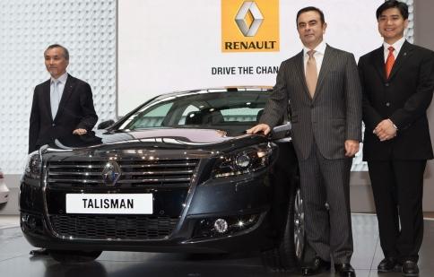 Renault ra mắt Talisman tại Trung Quốc
