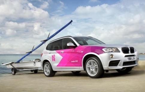 BMW tiết lộ đoàn 'chiến binh' phục vụ Olympic 2012