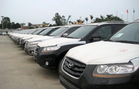 Tăng mạnh thuế nhập khẩu một số loại ôtô