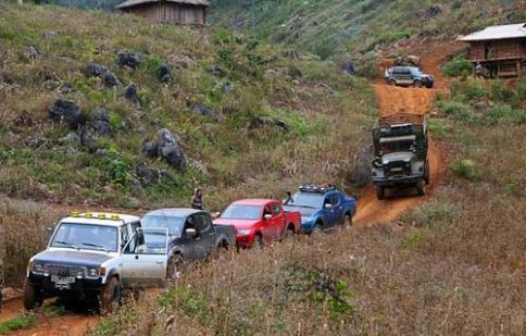 Giải đua ô tô địa hình toàn quốc 2012