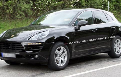 Porsche Macan lộ diện