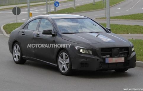 Mercedes CLA 2014 tiếp tục thử nghiệm