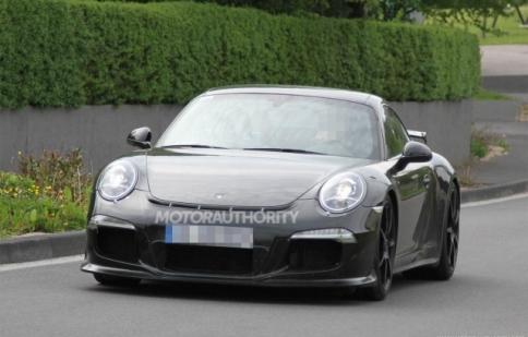 Siêu phẩm Porsche 991 GT3 2013 trên đường thử
