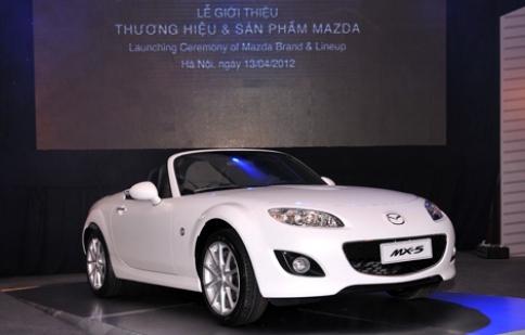 Vinamazda công bố giá 3 mẫu xe mới