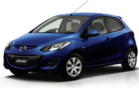 Mazda giới thiệu xe Demio 13C-V tiết kiệm nhiên liệu