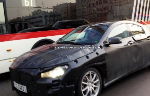 Mercedes CLA thử nghiệm tại Dubai