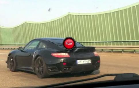 Porsche 911 Turbo thế hệ mới lộ diện