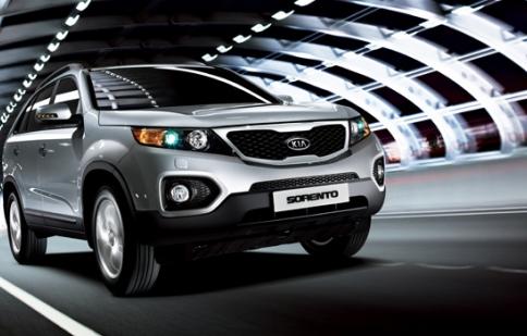 Thaco Kia ưu đãi mua xe SUV Kia Sorento