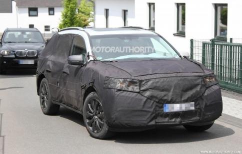 Acura MDX 2014 tiếp tục chạy thử nghiệm