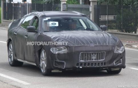 Maserati Quattroporte 2014 lộ ảnh thử nghiệm