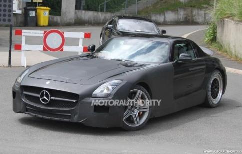 Mercedes phát triển mẫu xe cỡ nhỏ của SLS AMG