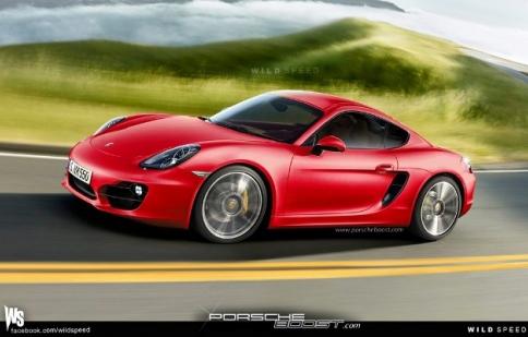 Porsche đem Cayman 2013 tới Los Angeles Auto Show 2012
