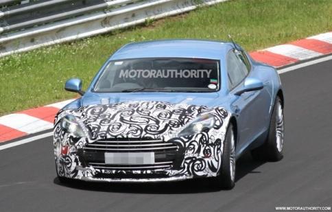 Aston Martin Rapide S 2013 chạy thử nghiệm