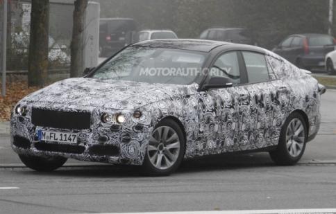 BMW 3-Series Gran Turismo rò rỉ hình ảnh