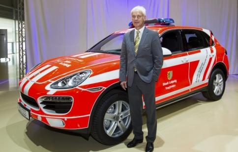 Chiếc Porsche Cayenne thứ 500.000 được xuất xưởng