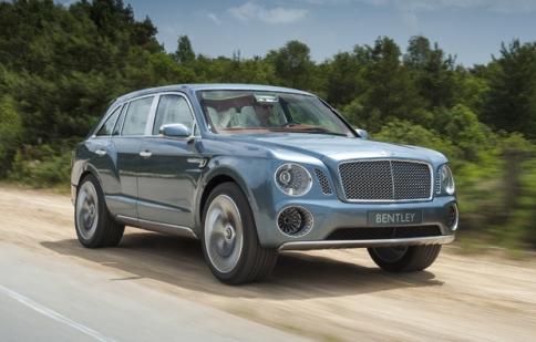 Bentley điều chỉnh lại EXP 9 F concept