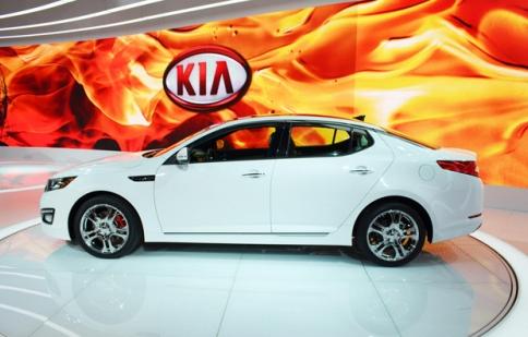 Kia Optima SX Limited  2013 có giá 36.050 USD