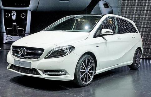 Mercedes đưa B-class EV tới Mỹ