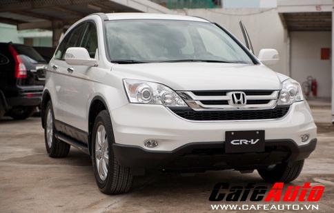 Mua Honda CR–V trong tháng 7 nhận ngay 55 triệu đồng