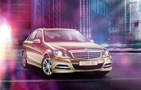Mua xe Mercedes-Benz với lãi xuất 0 %