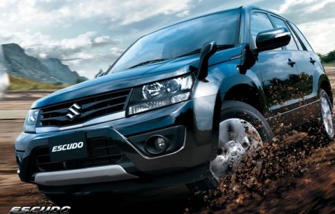 Suzuki Grand Vitara 2013 sẽ được nâng cấp