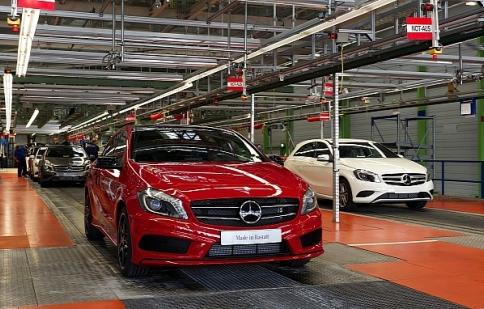 Mercedes A-Class được sản xuất tại Đức