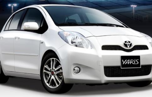 Toyota chính thức phân phối Yaris  RS