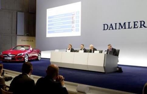 Daimler AG dự kiến lợi nhuận thấp trong quý 2