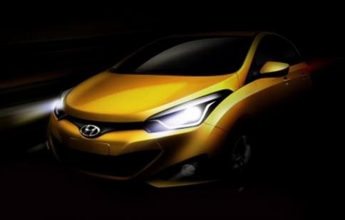 Hyundai tiết lộ HB20 hatchback