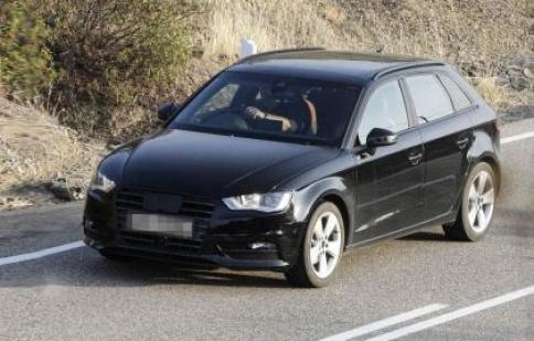 Audi A3 Sportback lộ hình ảnh thử nghiệm