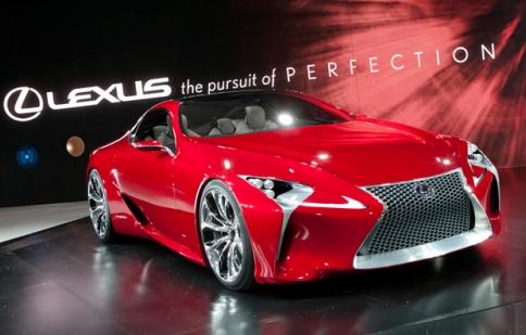 Lexus sẽ mang những mẫu xe nào tới Paris Motor Show 2012?