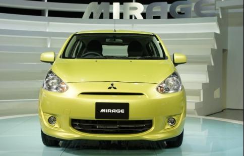 Mitsubishi Mirage có giá 12.800 USD