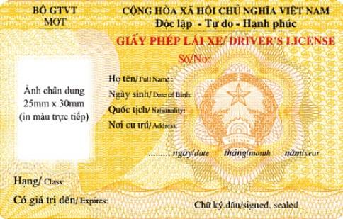 TP HCM sắp cấp đổi giấy phép lái xe mới