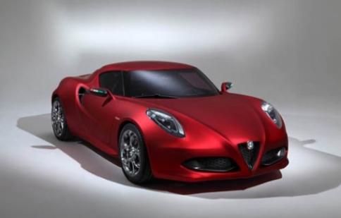 Alfa Romeo 4C convertible ra mắt vào năm 2015