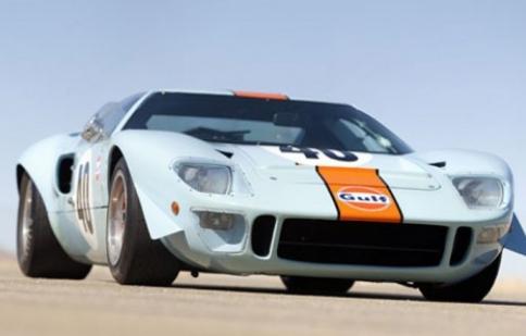 Ford GT40 Gulf/Mirage 1968 có giá 11 triệu USD