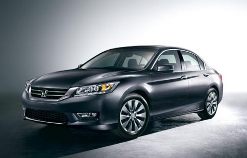 """Honda Accord 2013 lộ diện """"bằng xương bằng thịt"""""""