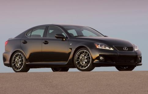 Lexus IS-F 2014 có thể sẽ được trang bị động cơ V6