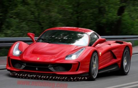 Đây có phải là Ferrari F70?