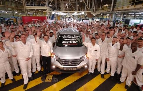 Honda CR-V 2012 được sản xuất tại Anh