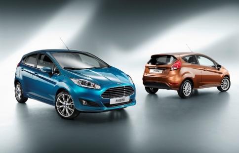 Ford Fiesta 2013 ra mắt ngoài dự kiến
