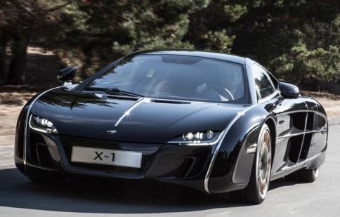Siêu phẩm thay thế McLaren F1 ra mắt tại Paris