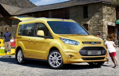 Diện mạo mới của Ford Transit Connect 2014