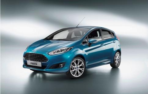 Ford sẽ cho ra mắt Fiesta hoàn toàn mới