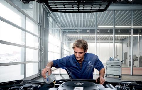 Mercedes cung cấp dầu động cơ chính hãng