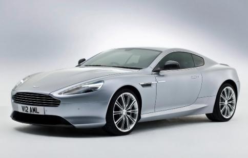 Aston Martin DB9 2013 có sức mạnh 510 mã lực