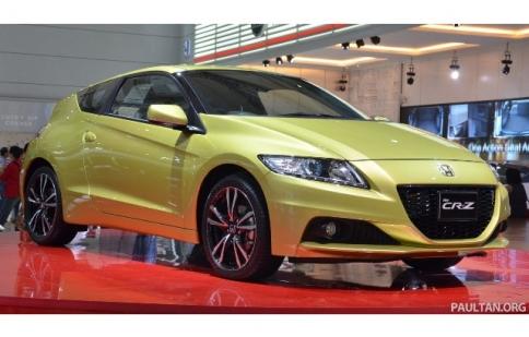 Honda ra mắt CR-Z 2013 trước thềm Paris Motor Show
